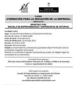 curso EEEA abril-mayo 2013