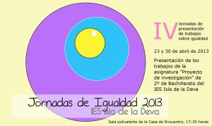 LOGO Jornada Igualdad 2013