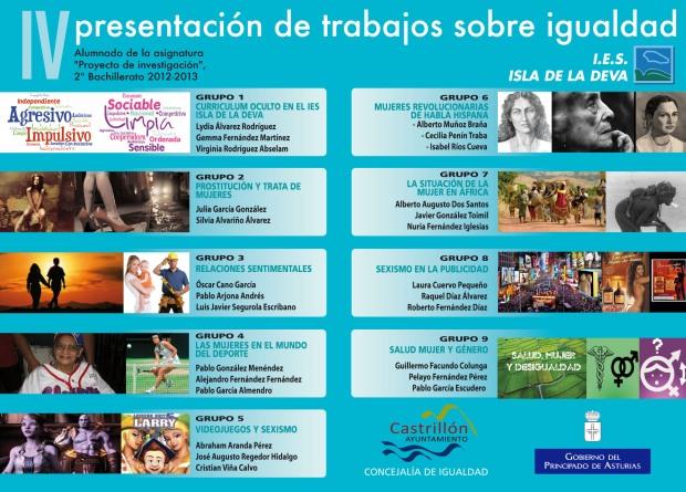 Panel IV Presentación de trabajos sobre igualdad - 2013