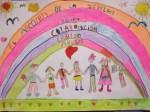 Mención especial Primaria El arco iris de la igualdad