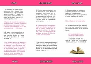 triptico foro concurso relatos 2013 2