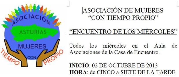 encuentros miércoles Con Tiempo Propio 2013