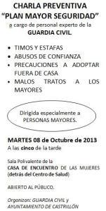 Plan Mayor seguridad 2013