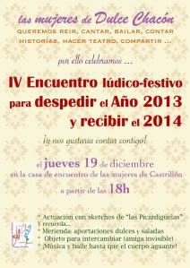 fiesta de navidad 2013 Dulce Chacón