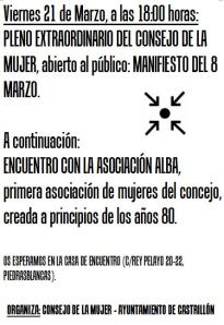 encuentro asociacion Alba 21.03.2014