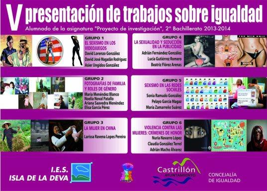 imagen plotter V Jornada presentacion trabajos 2014