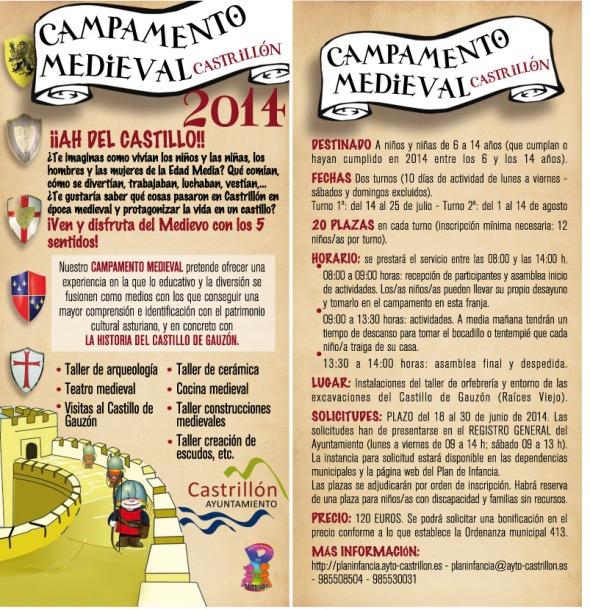 flyer CAMPAMENTO 2014