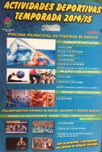 actividades deportivas 2014-2015
