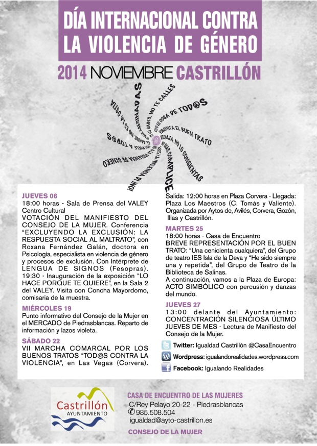 cartel noviembre 2014