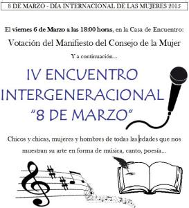 iv encuentro intergeneracional 2015