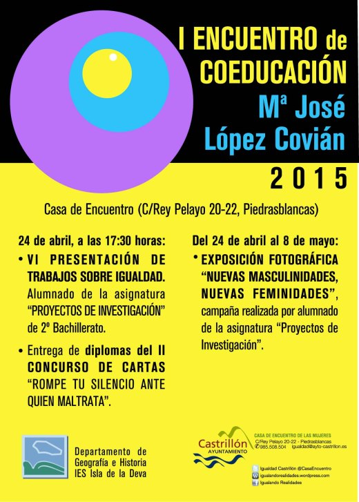 I Encuentro Coeducación 2015