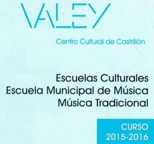 escuelas culturales 2015-2016