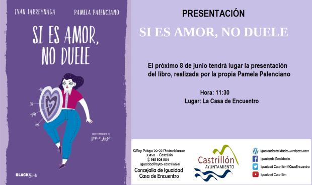 Cartel Presentación Pamela Palenciano