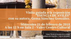 21 febrero Visita a expo Esencia de Avilés