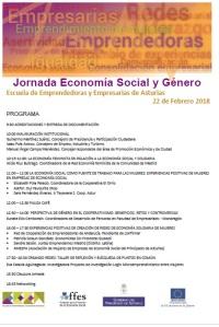"""JORNADA """"ECONOMÍA SOCIAL Y GÉNERO"""" DE LA ESCUELA DE EMPRENDEDORAS Y EMPRESARIAS"""
