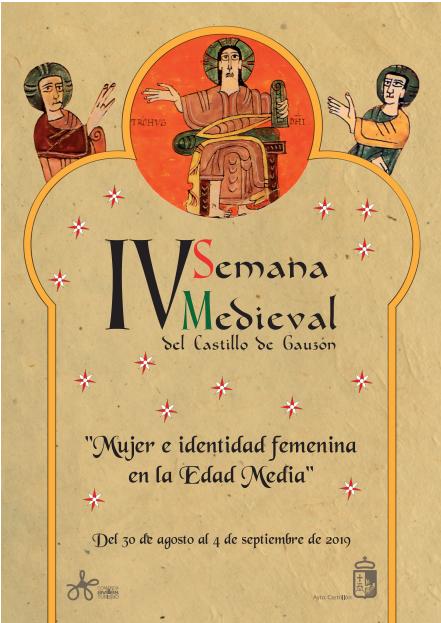 cartel cuarta semana medieval